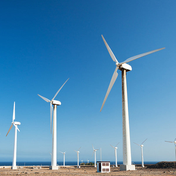 wind turbines made of composite materials