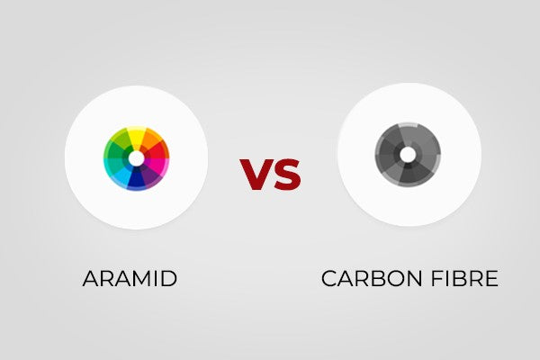 armid vs carbon fiber color