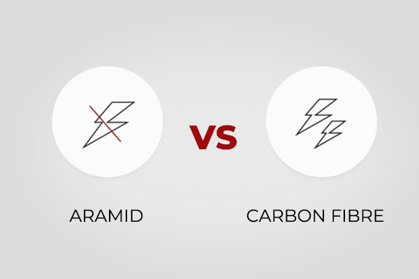 armid vs carbon fiber conductive