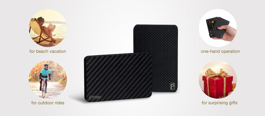 PITAKA Carbon Cardholder: World First Carbon Card Holder Wallet