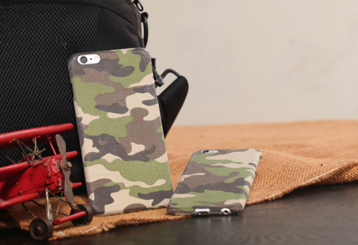 pitaka camouflage cloth iphone case