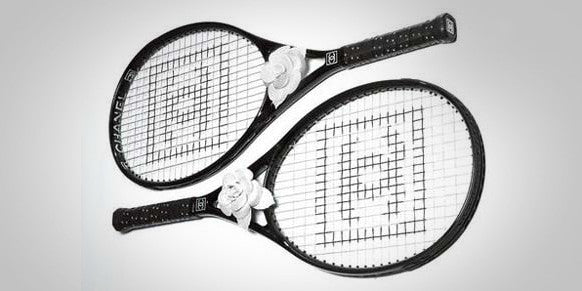 Chanel Carbon Fiber Tennis Racket