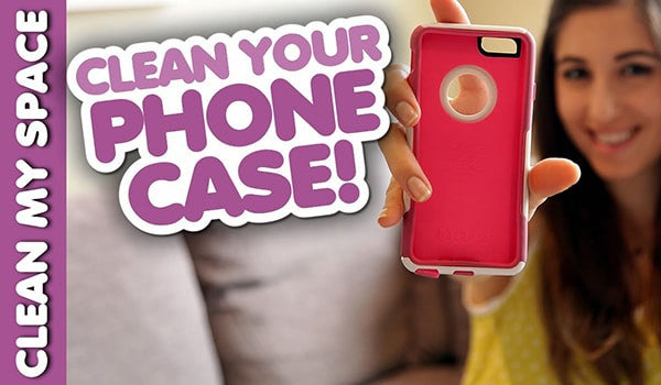 CMS told you how to clean your phone case