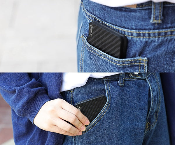 front pocket wallet will help you to get away from wallet neuropathy