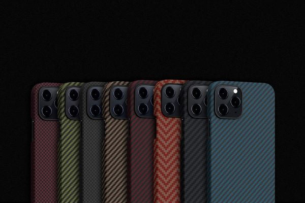 thin iPhone 12 cases from PITAKA, compatible with MagSafe