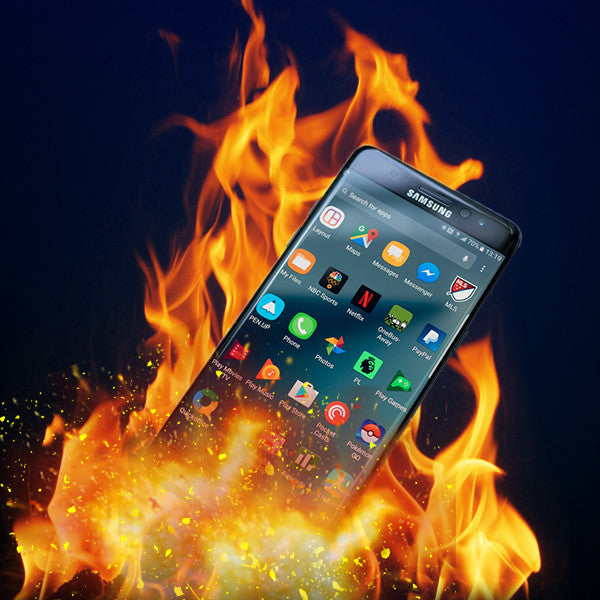 samsung note 7 explosion