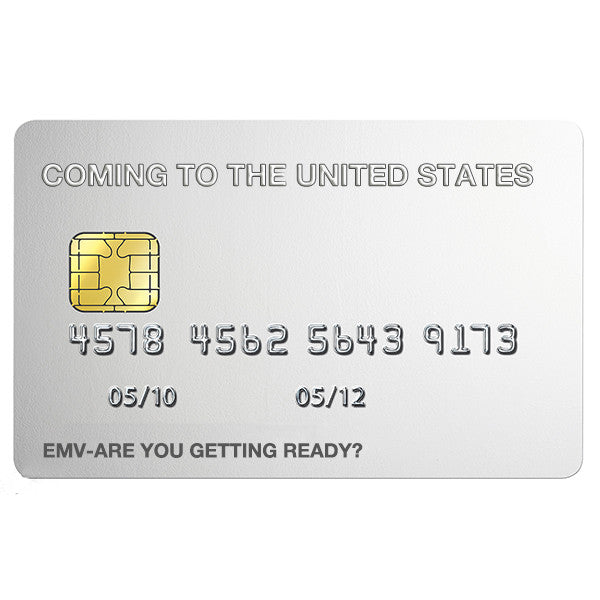 usa are adopting emv chip cards in a fast speed