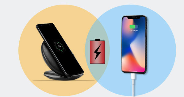 wireless charging VS wired charging