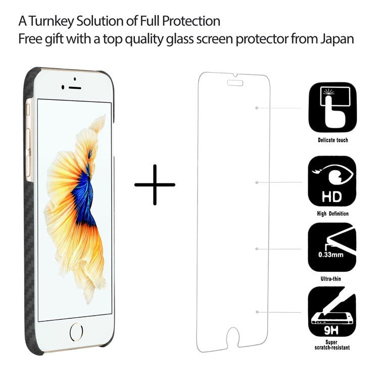 top quality glass screen protector from Japan for iPhone 6/6 Plus | PITAKA