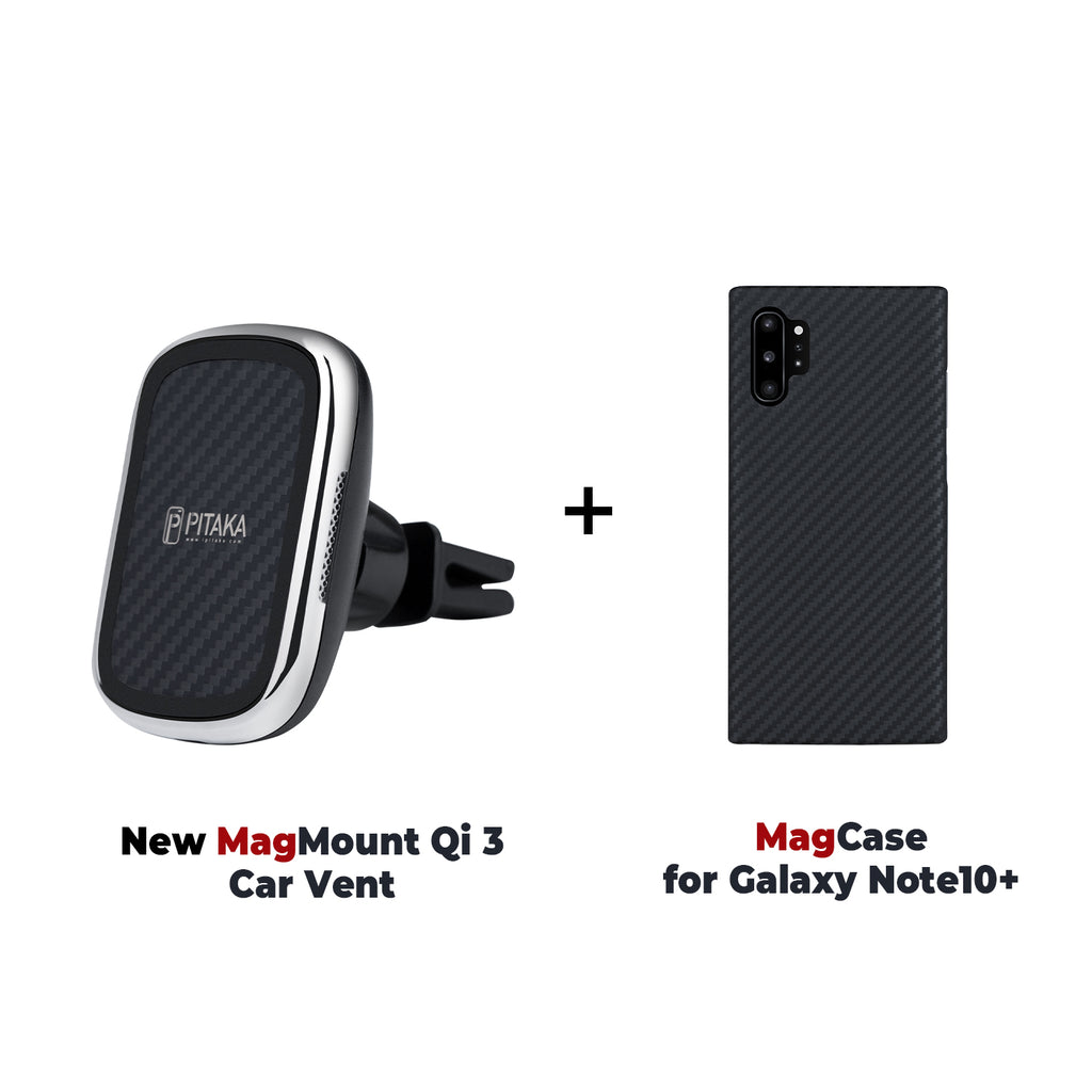 MagEZ Mount Qi + MagEZ Case for SamSung
