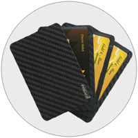 Easy to Access Carbon Fiber Wallet