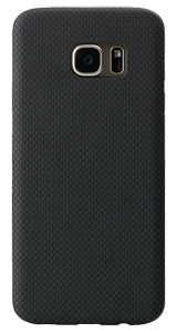 Samsung Galaxy S7 edge Black-Grey (Plain) Case