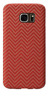 Samsung Galaxy S7 edge Red-Orange (Herringbone) Case