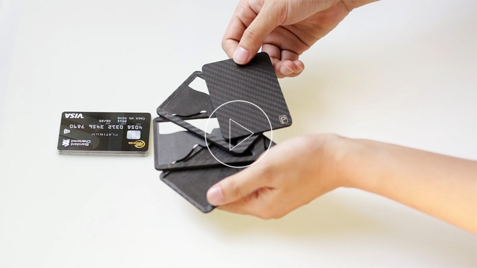 play with the card holder
