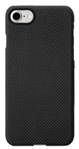 iPhone 7 Black-Grey (Plain) Case