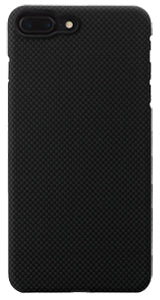 iPhone 7 Plus Black-Grey (Plain) Case
