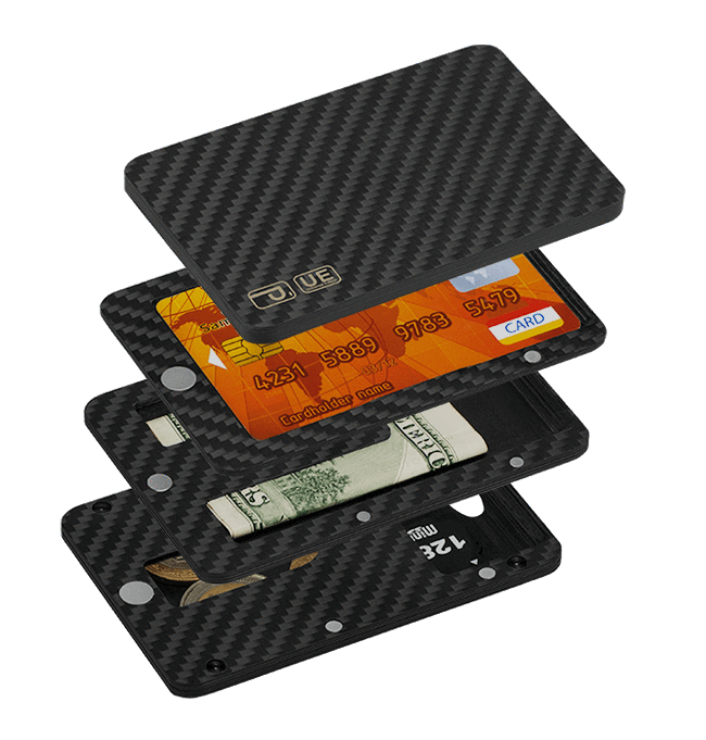 Magnetic Carbon Fiber Wallet