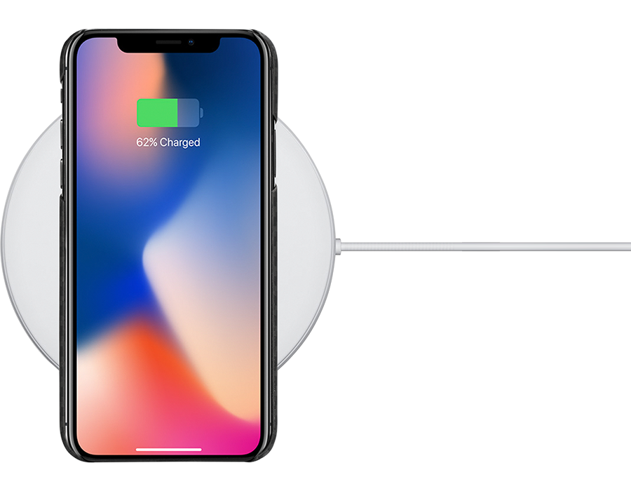 iPhone X with magcase Wireless Charging