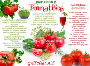 Amazing Health Benefits of Tomatoes by Grill Heat Aid