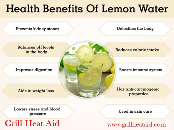 Health benefits of Lemon/Lemon Water