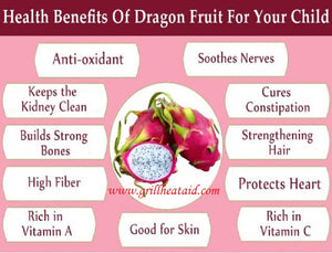 Amazing Health Benefits of Dragon Fruit by Grill Heat Aid