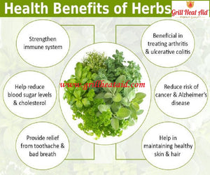 Amazing Health Benefits of Herbs Suggested by Grill Heat Aid