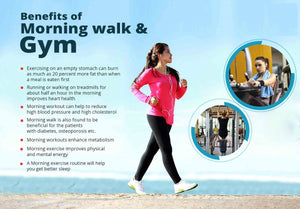 BENEFITS OF MORNING WALK & REGULAR GYM