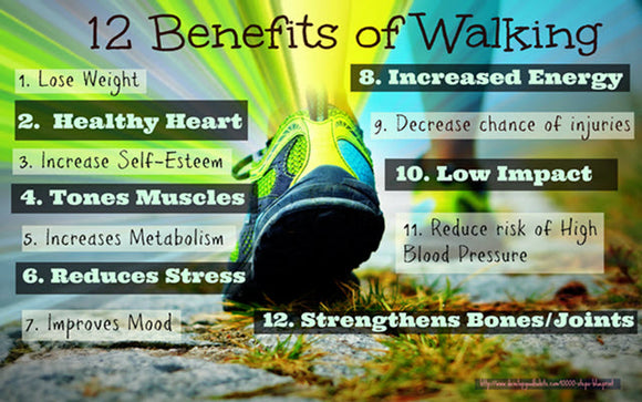 The 12 Benefits of Starting Your Day with a Walk Suggested by Grill Heat Aid