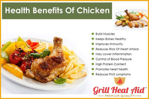 Chicken Benefits for Health By Grill Heat Aid