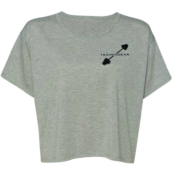 Dedication Flowy Boxy T-Shirt Gray