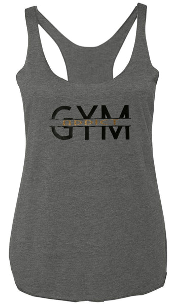 Gym Addict Tank Gray