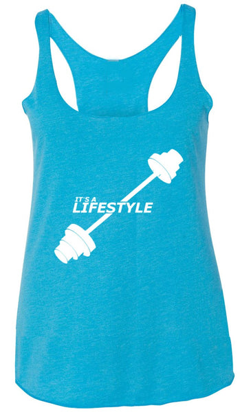 It's a Lifestyle Tank Blue