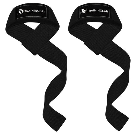 Padded Lifting Straps Black