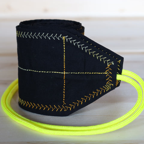 Wrist Wraps Black & Yellow
