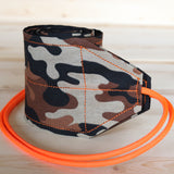 Wrist Wraps Brown Orange Camo Hunter