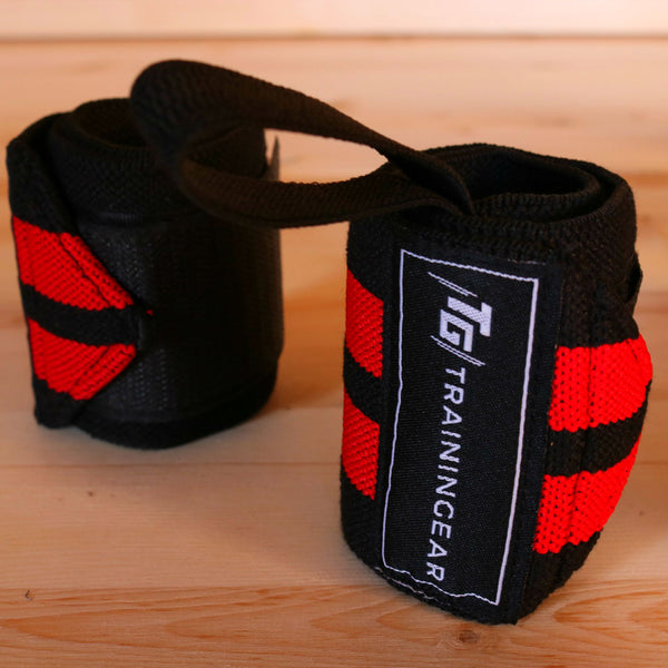 Wrist Wraps Red & Black