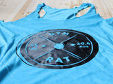 Gym Rat Tank Blue