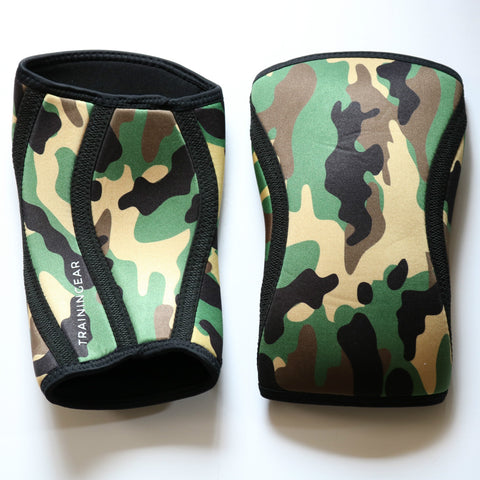 Trainingear Knee Sleeves - Green Camo