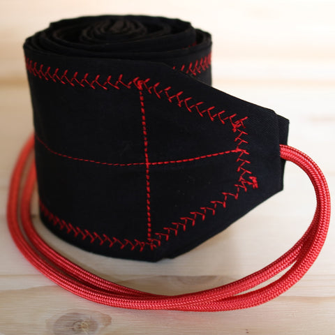 Wrist Wraps Black & Red