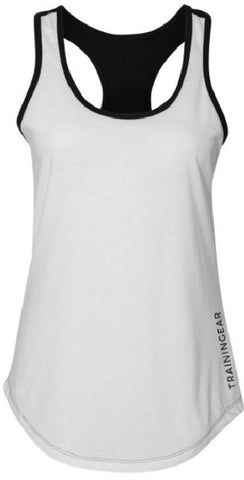 Two Tone Tank Black & White