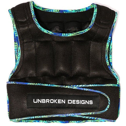 Unbroken Designs Paradise city 30 lbs Weight Vest