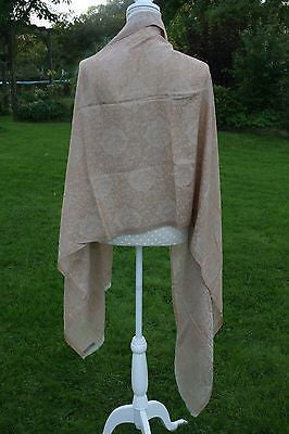 Traditional Nepalese Cashmere Blend Ring Shawl, Scarf or Stole
