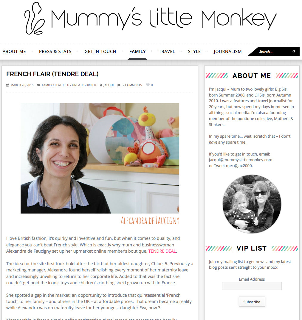 Mummy's Little Monkey Blog