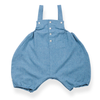 Alphonse romper - blue with chevrons