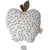 Musical Apple Cushion - Black Dots - Tendre Deal
