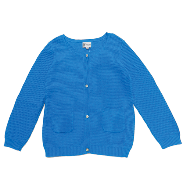 Knitted Cardigan - Aqua Blue - Tendre Deal