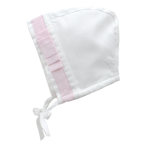 Baby Hat with pink bow - Tendre Deal