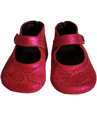 Baby shoes 100% Leather - Fushia - Tendre Deal