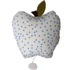 Musical Apple Cushion - Blue Dots - Tendre Deal