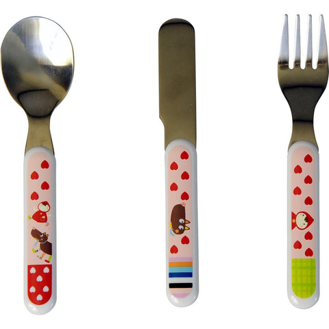 Little Red Riding Hood Cutlery set - Tendre Deal